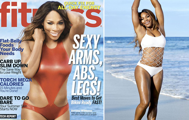 Serena Williams Flaunts Killer Curves in Fitness Magazine