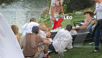 Leonardo DiCaprio -- Manhandled like a Bitch ... At Coachella