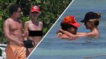 Heidi Klum's Boobs Vacation in Mexico