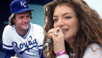 George Brett -- I Had An AMAZING Time with Lorde ... 'She's Awesome!'