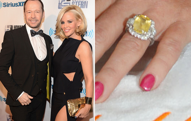 Jenny McCarthy Engaged to Donnie Wahlberg -- See Her MASSIVE Ring!