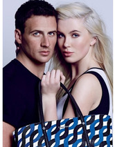 Ireland Baldwin & Ryan Lochte Get Sexy & Patriotic for Ca