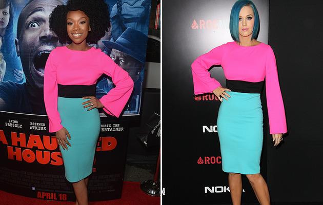Dueling Dresses: Brandy vs. Katy Perry