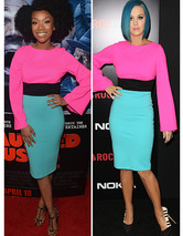 Dueling Dresses: Brandy vs. Katy Per