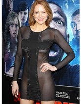 "Former ""Boy Meets World"" Star Maitland Ward Wears See-Through Dress!"