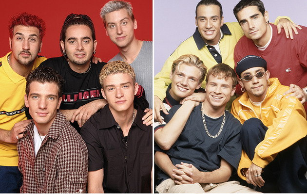 *NSYNC & Backstreet Boys Feud Resurfaces In 2014 -- Who's Dissing Who?