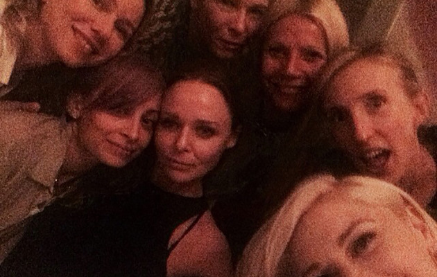 Gwyneth Paltrow Has Girls' Night Out with Gwen, Nicole, Naomi & More