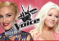 Gwen Stefani on 'The Voice' -- Taking Christina Aguiler