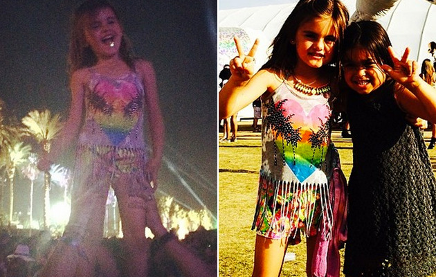 Alessandra Ambrosio Gets Slammed for Bringing Daughter to Coachella