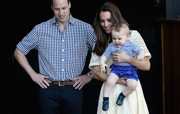 Prince George Goes to the Zoo -- See the Super Cute Pics!
