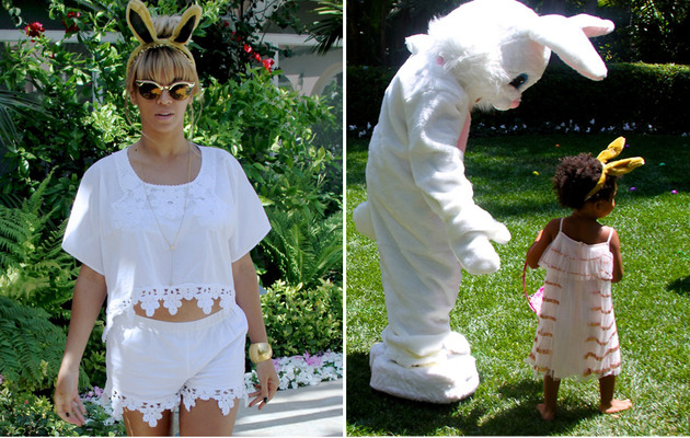Beyonce Shares SUPER Cute Easter Pics With Blue Ivy