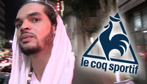 Joakim Noah SUES Le Coq Sportif -- I Wore Your Crappy Shoes & You Screwed Me!