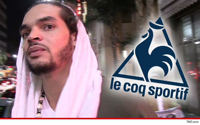 Joakim Noah Sues Le Coq Sportif Shoes