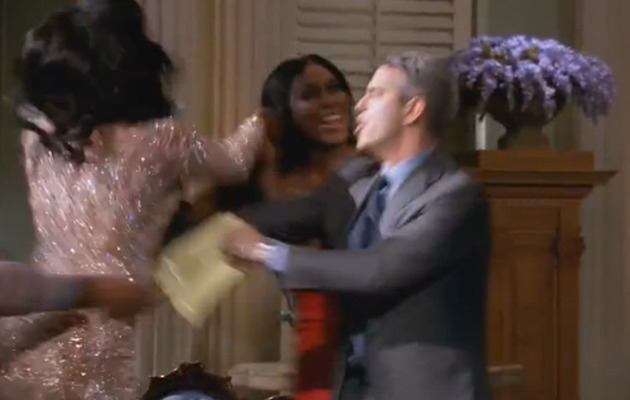 """Real Housewives of Atlanta"" -- See Porsha & Kenya's Epic Brawl!"