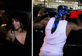 DeSean Jackson -- Hollers At Rihanna ... Outside L.A. Night