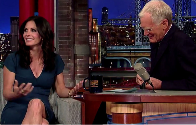 "Courteney Cox Says ""Friends"" Reunion is ""Not Gonna Happen"""