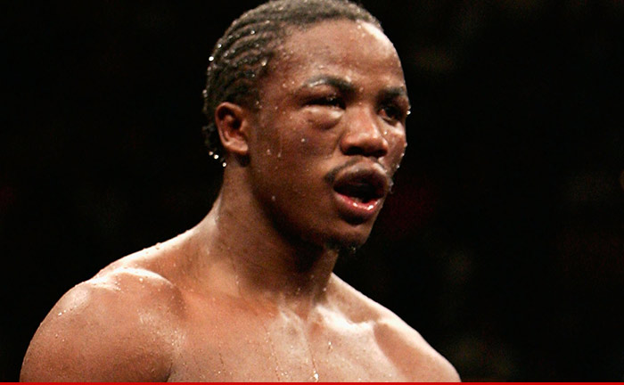 Boxer Kassim Ouma HIT WITH COKE CHARGES Stemming From L.A. Fight