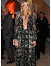 Mischa Barton Wears Plunging Dress at BritWeek Launch Party!