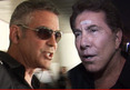 George Clooney, Steve Wynn -- Nuclear Screaming Match A