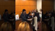Ian Somerhalder -- Ambushed By Singing Fan ... 'You Make Me Feel Like a Natural Woman!' [VIDEO]