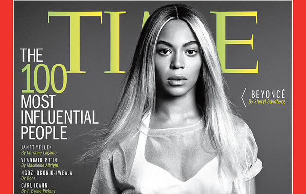 "Beyonce Covers TIME Magazine's ""100 Most Influential People"" Issue"