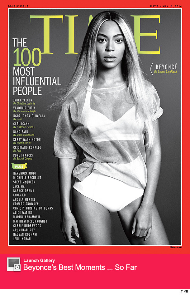 Beyonce TIME 100 Most Influential People