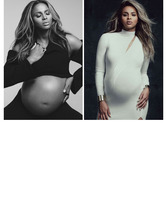 Ciara Shows Off Bare Baby Bump