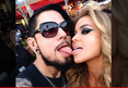 Carmen Electra -- Double Dipping Tongues with Ex-Husband D