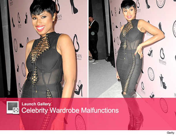 Jennifer Hudson See Through Dress
