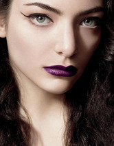 First Photo from Lorde's MAC Campai