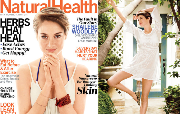Shailene Woodley Loves Dressing Up & Dancing Around With Hairy Armpits