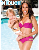 Tamera Mowry-Housley Flaunts Hot Post-Baby Body in a Bikini!