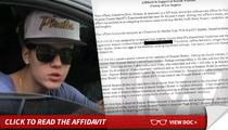Justin Bieber -- High-Fiving After Egg Attack ... Cops Say