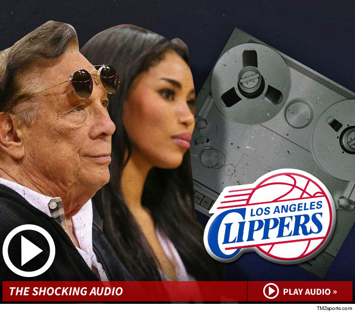 Report: Clippers owner Donald Sterling caught on tape telling his girlfriend to not bring African-Americans to 'my games'