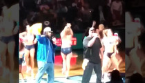 Memphis Grizzlies -- WHOOMP! THERE IT IS ... Tag Team Performs Hit Song LIVE!!!