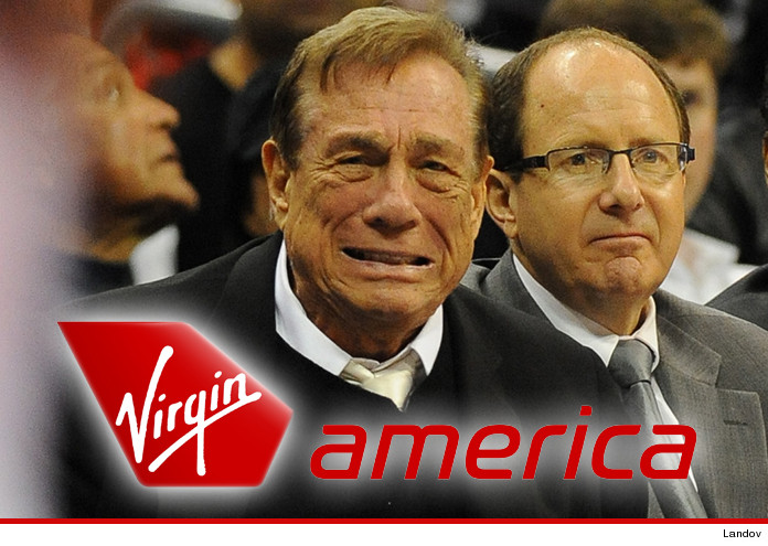 Virgin America Drops Clippers Sponsorship