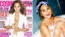 Chrissy Teigen Poses Naked, Talks Mile-High Club in Cosmopolitan