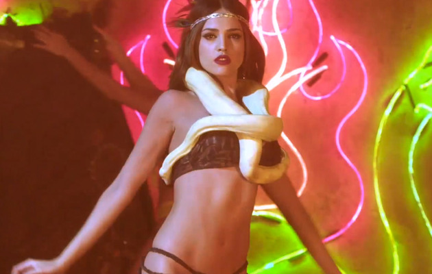 Eiza Gonzalez Talks Snake Strip Tease, Her Growing Booty & Tabloids!