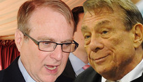 Trail Blazers Owner Paul Allen -- A WHITE NBA Owner Speaks Up ... Says Donald Sterling Unfit to Be an Owner