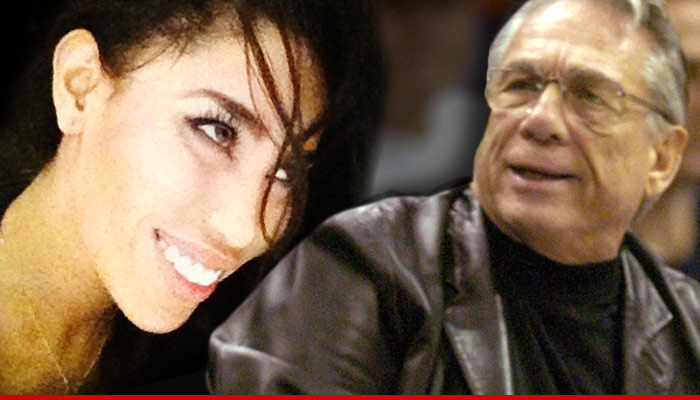 V Stiviano Donald Sterling Girlfriend