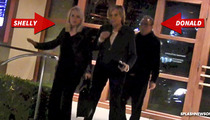 Donald Sterling & Wife Out Together -- She Screams: He's NOT a Racist! [VIDEO]