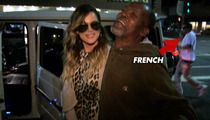 Khloe Kardashian & French Montana -- Run Homeless Cover-Up in Bev Hills
