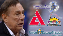 Donald Sterling Charities Split -- Do We Keep the Loot or Not?