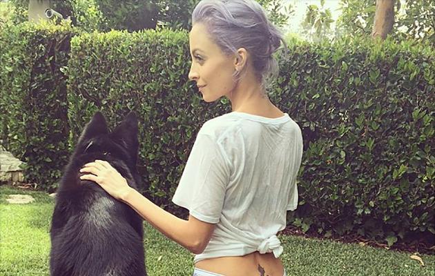 Nicole Richie Shares Sexy Selfie in Calvin Klein Underwear