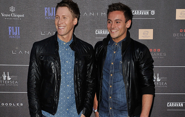 Tom Daley & Dustin Lance Black Made Public Debut