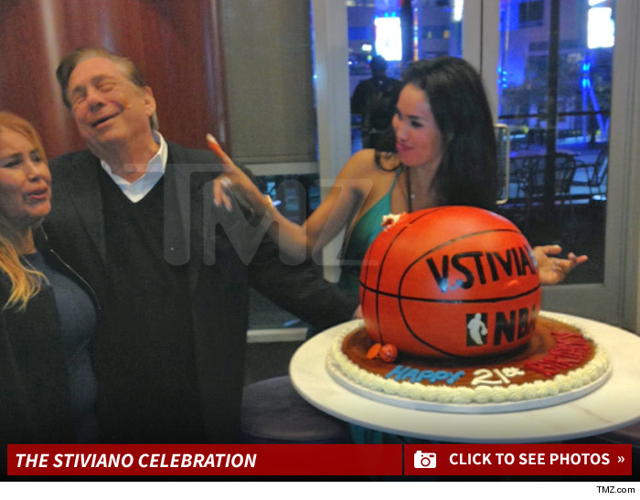 V. Stiviano Birthday