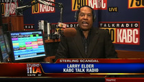 Donald Sterling -- BAN IS COMPLETELY UNFAIR ... Says Larry Elder