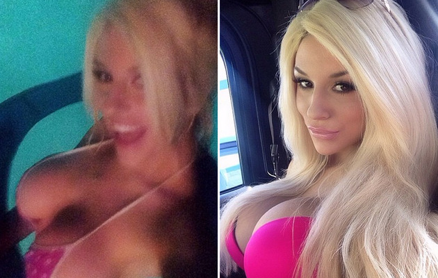 Courtney Stodden Busts Out in Sexy Bikini Selfies