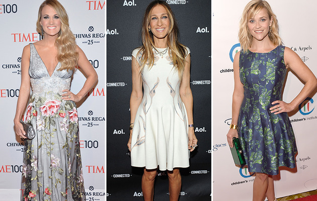 Carrie, SJP & More -- See This Week's Best Dressed Stars!