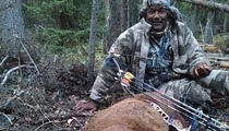 Karl Malone -- KILLS HIMSELF A BEAR ... With a Bow and Arrow